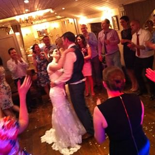 Dublin Wedding DJ introduces Bride and Groom to their first dance as a new married couple
